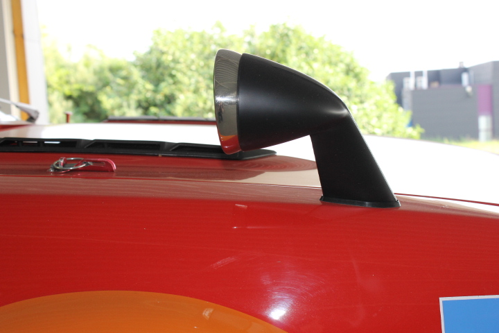Typical japanese rear vieuw mirrors